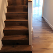 V4 Wood Flooring on Stairs